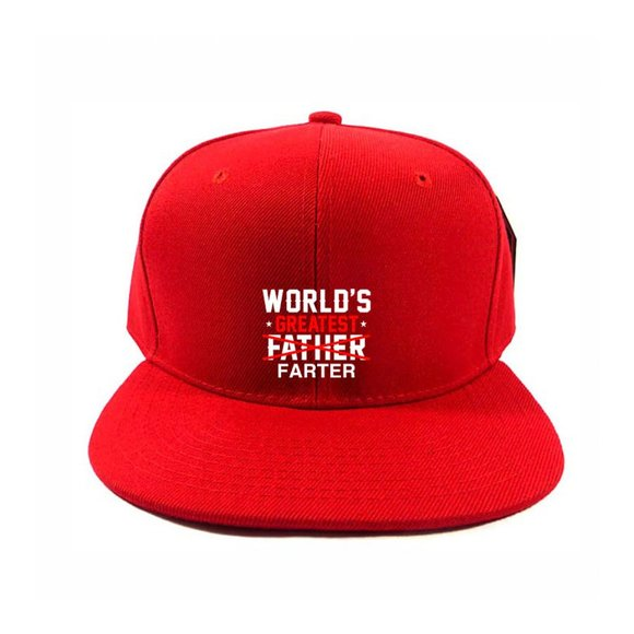 GREATEST FATHER One Size Adjustable Snapback